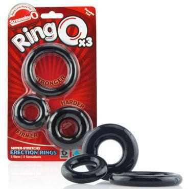 Screaming O Ringo Набор из трех эрекционных колец d odeco o zone оранжевый