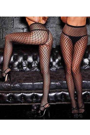 черные прозрачные бесшовные колготки эро фото