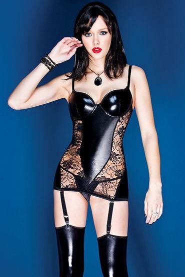 Coquette мини-платье С нежными кружевными вставками
