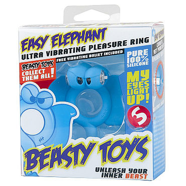 Shots Toys Easy Elephant - фото, отзывы