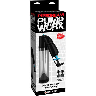 Pipedream Pump Worx Deluxe Sure-Grip Pump, Вакуумная помпа