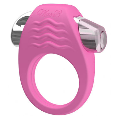 Mae B Stylish Soft Touch C-ring, розовое Эрекционное кольцо с вибрацией