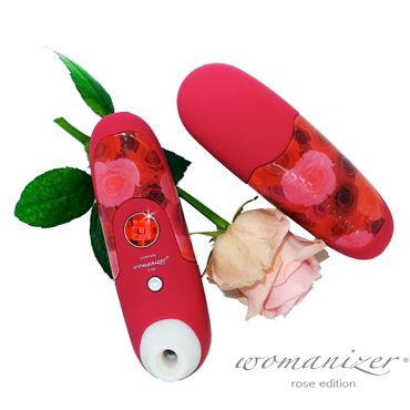 Womanizer W100, красный Вакуумный стимулятор клитора