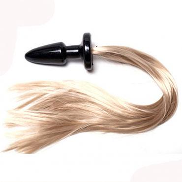 Luxurious Tail Blondy Анальная пробка с хвостом анальная пробка spectra gels