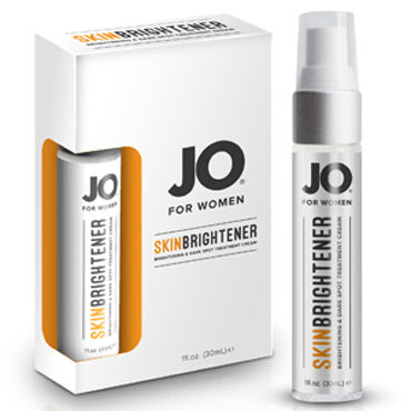 System JO Skin Brightener Cream, 30мл Крем для осветления кожи на интимных зонах flirt on sharlote комбинация на тонких бретельках