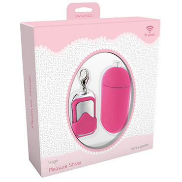 Toyz4lovers Lovely Egg Pleasure Shiver Large, розовое - фото, отзывы