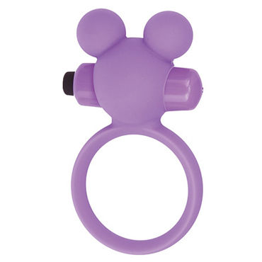 Toyz4lovers Silicone Teddy, розовое Эрекционное виброкольцо zado leather collar ошейник с кольцом для пристегивания