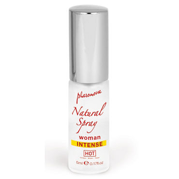 Hot Naturale Spray Woman Intense, 5мл Спрей с феромонами, женский hot charts