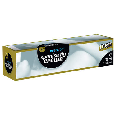 Hot Ero Erection Spanish Fly Cream, 30мл Возбуждающий крем для мужчин wet fun flavors poppn cherry 302 мл 350