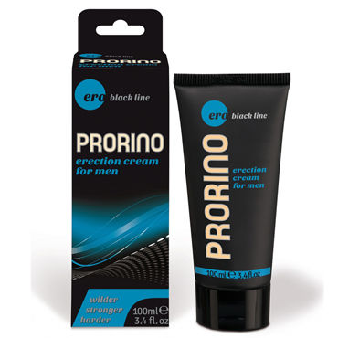 Hot Ero Prorino Erection Cream, 100мл Возбуждающий крем для мужчин hot ero anal backside spray 50мл спрей для анального секс