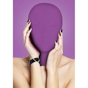 Ouch! Subjugation Mask, фиолетовая Маска на лицо огромные фаллоимитаторы shots toys