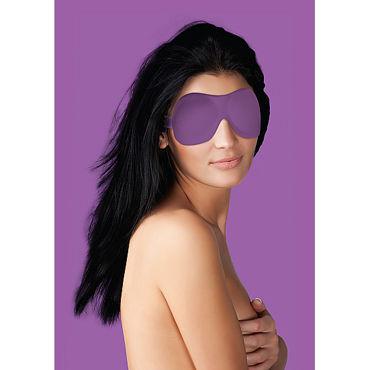 Ouch! Curvy Eye mask, фиолетовая Маска на глаза