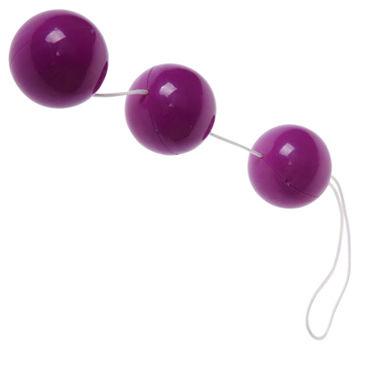 Baile  Sexual Balls круглые, фиолетовые Анальные шарики