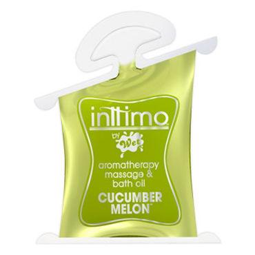 Wet Inttimo Cucumber Melon, 10 мл Массажное масло, огурец и дыня sexus silk touch pina colada 50 мл