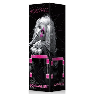 Shots Toys Bad Romance Translucent Bondage Belt with Velcro - фото, отзывы
