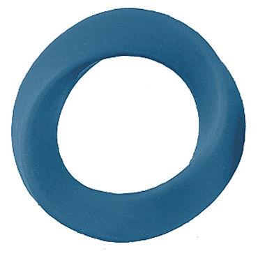 Shots Toys Infinity Large Cockring, синее Эрекционное кольцо на пенис