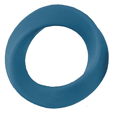 Shots Toys Infinity XL Cockring, синее Эрекционное кольцо на пенис shots toys sono cockring 44 черное эрекционное кольцо в форме шины