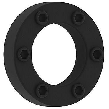Shots Toys Sono Cockring №41, черное Эрекционное кольцо со стимулирующим рельефом shots toys ribbed egg черное 2 сезон