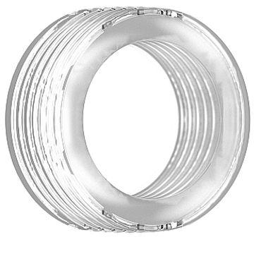 Shots Toys Sono Cockring №42, прозрачное Утолщенное эрекционное кольцо