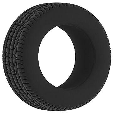 Shots Toys Sono Cockring №44, черное Эрекционное кольцо в форме шины портупея me seduce белая os