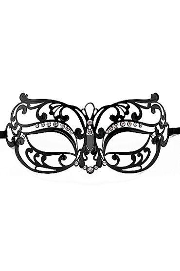 Ouch Tribal Masquerade Mask, черная Маска на глаза в венецианском стиле