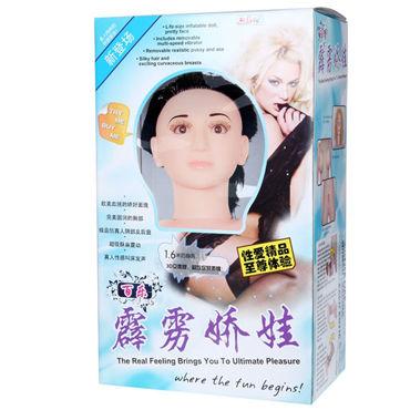 Baile Любовная кукла брюнетка, телесная С реалистичными конечностями и головой contex relief презервативы c кольцами и пупырышками