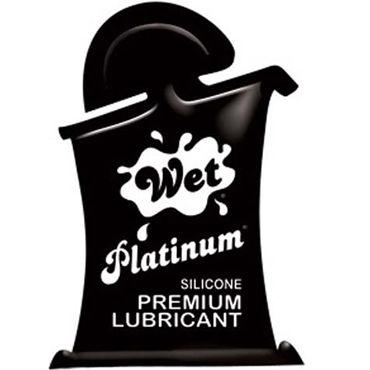 Wet Platinum, 10мл Густой силиконовый лубрикант косметика и аксессуары wet wet