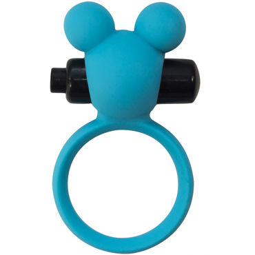 Lola Toys Emotions Minnie, синее Эрекционное виброколечко фаллоимитатор jel lee real cock 25 4см телесный