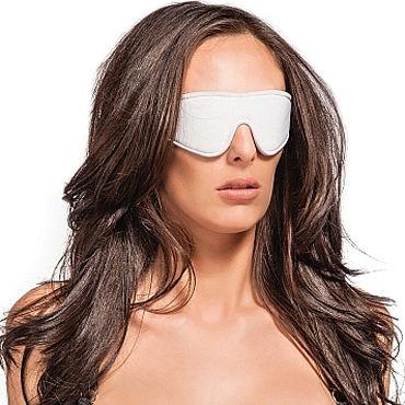 Ouch! Reversible Eyemask, черно-белая Плотная маска на глаза промо листовка а7 двусторонняя nexus revo stealth tenga