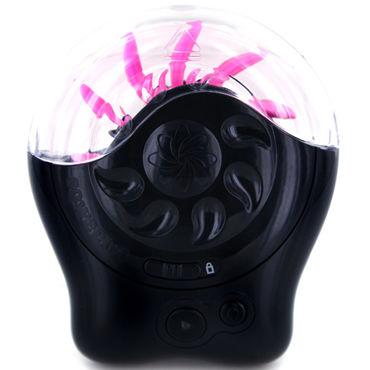 Sqweel 2, черно-розовый Клиторальный стимулятор, имитирующий оральные ласки sqweel go pink карманный клиторальный стимулятор