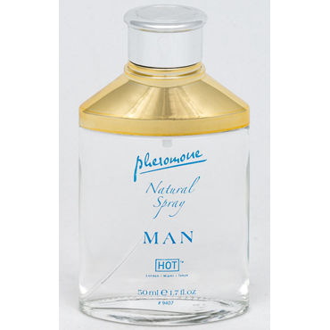 Hot Man Natural Spray, 50 мл, Спрей для мужчин с феромонами