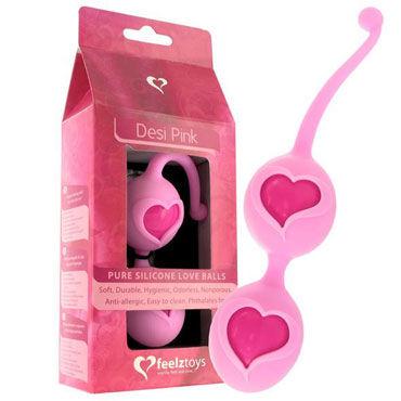 FeelzToys Desi Pink Вагинальные шарики в силиконовой оболочке adrien lastic geisha lastic ball s фиолетовые вагинальные шарики на сцепке