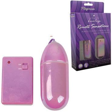 PlayHouse Remote Sensations, фиолетовый Виброяйцо с беспроводным пультом управления