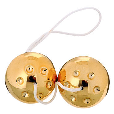 Scala Selection Gold Metal Balls Вагинальные шарики вибратор sex machine sex for man l0863
