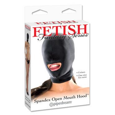 Pipedream Open Mouth Hood Маска на голову с прорезом для рта