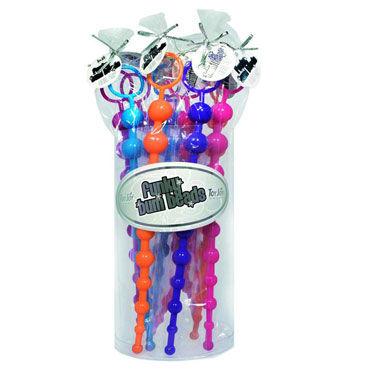Toy Joy Funky Bum Beads Набор из десяти анальных цепочек