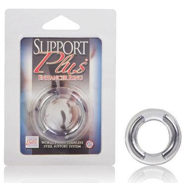 California Exotic Support Plus Enhancer Ring Эрекционное кольцо с металлическими дугами
