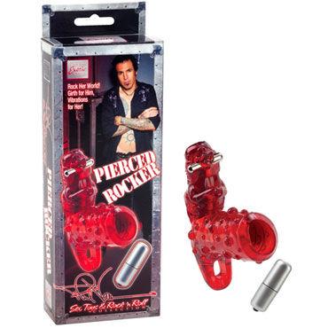 California Exotic Phil Varone Pierced Rocker Вибронасадка с клиторальным стимулятором