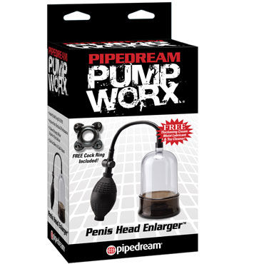 Pipedream Pump Worx Penis Head Enlarger, Попма на головку члена