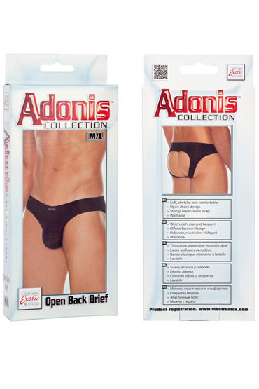California Exotic Adonis Open Back Brief - фото, отзывы