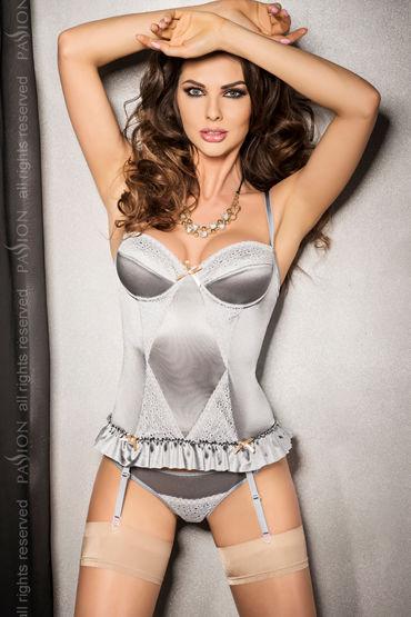 Passion Halla Corset Топ с кружевными вставками и стринги passion angie corset