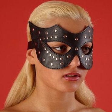 Podium очки-маска С металлическими клепками фаллоимитатор sexus glass 18 см