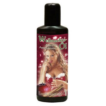 Weihnachts Ol, 50мл Массажное масло, яблоко с корицей bioglide plus 100 мл с возбуждающим эффектом