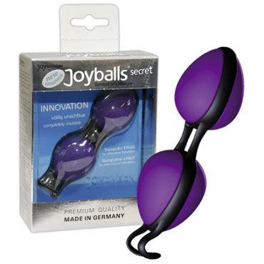 Joy division Joy balls Secret, фиолетовые Вагинальные шарики эргономичной формы супертяжелые вагинальные шарики orgasm balls