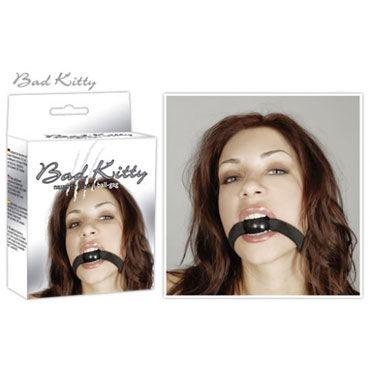 Bad Kitty Mundknebel, черный Кляп небольшоко размера популярные товары для взрослых размер 36с г