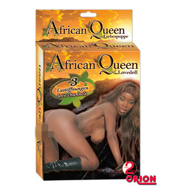 You2Toys African Queen Кукла мулатка вагинальные шарики из стекла small glass ben wa