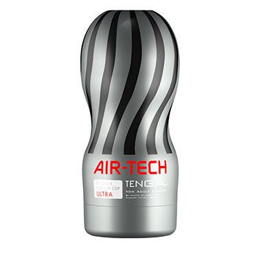 Tenga Air-Tech Ultra Мастурбатор с интенсивным рельефом, создающий ощущение глубокого минета фаллоимитатор sexus glass тройной 18 см