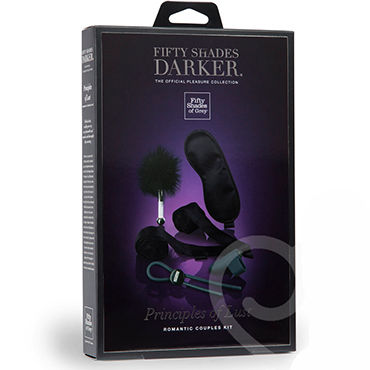Fifty Shades Darker Principles of Lust Romantic Couples Kit - фото 7