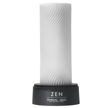 Tenga 3D Zen Многоразовый мастурбатор с уголками contex relief презервативы c кольцами и пупырышками