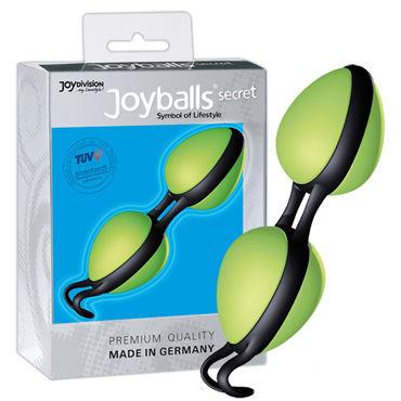 JoyDivision Joyballs Secret, зеленые Вагинальные шарики эргономичной формы ивыь арсенал плеть с синим мехом 3